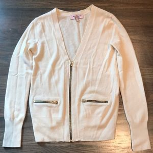 Juicy Couture cashmere and wool cardigan